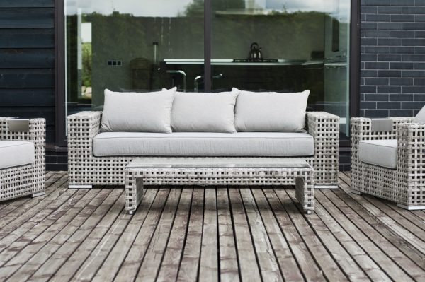 """Плетеный диван из искусственного ротанга """"Тито"""""""