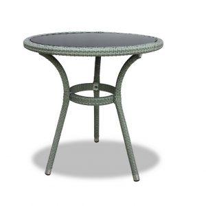"""Плетеный стол """"Lotus"""", цвет светло-серый"""