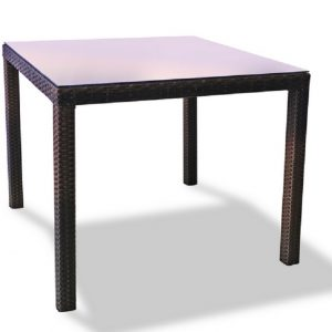 """Плетеный стол """"Milano brown"""""""