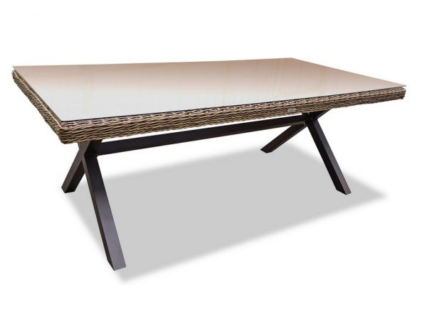 "Плетеный стол ""Opal"", 210 см"