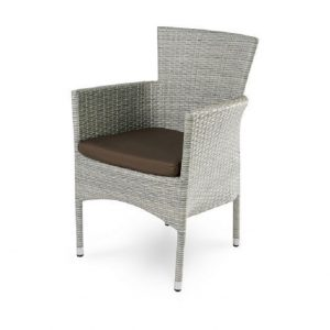 """Плетеное кресло """"Aroma grey"""", обеденное"""