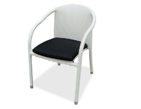 "Плетеный стул ""Lotus"", цвет белый"