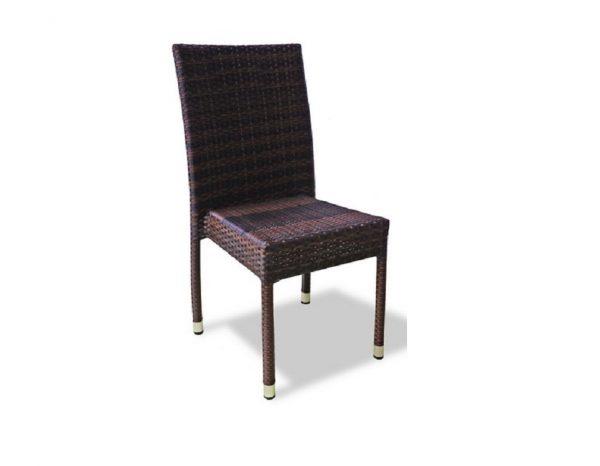 """Плетеный стул """"Milano brown"""" без подлокотников"""