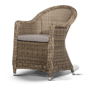"""Плетеное кресло из искусственного ротанга """"Равенна"""""""