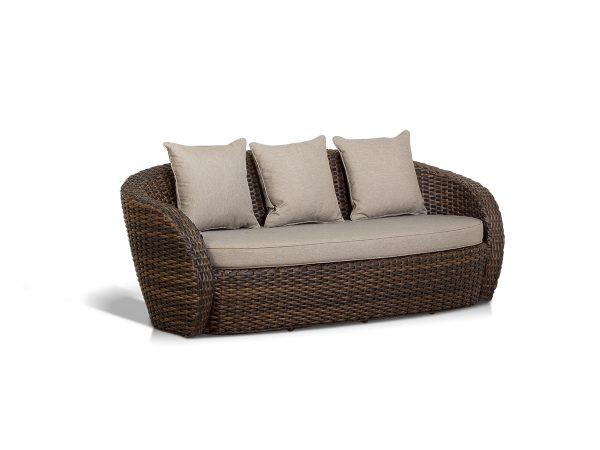 """Плетеный диван из искусственного ротанга """"Авела"""""""