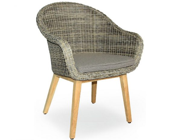 """Плетеное кресло """"Beverly"""" beige Brafab"""