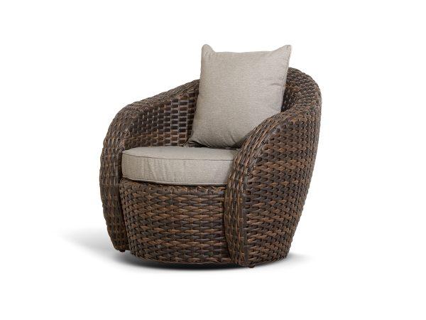 """Плетеное кресло из искусственного ротанга """"Авела"""""""