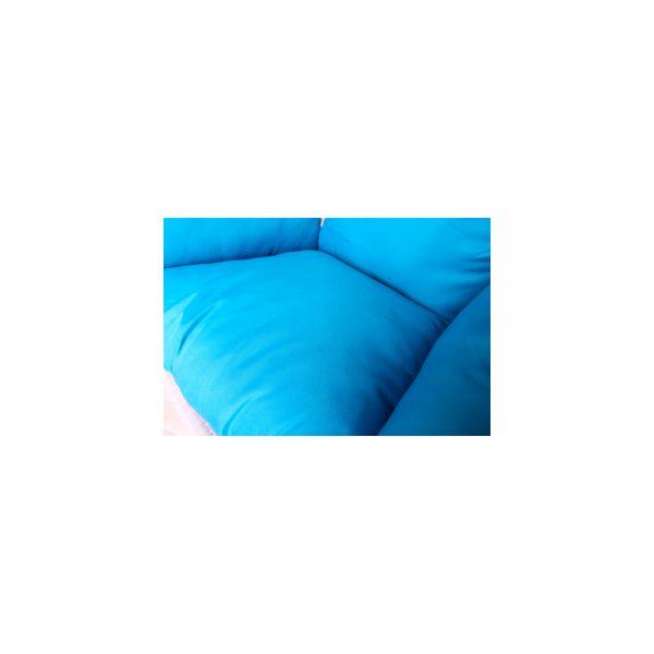 """Подвесное плетеное кресло """"Paradiso"""" KM-0031 medium blue"""