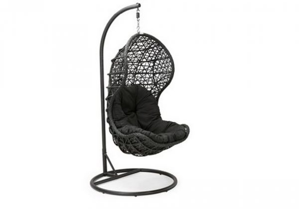 """Подвесное плетеное кресло """"Cand black"""""""