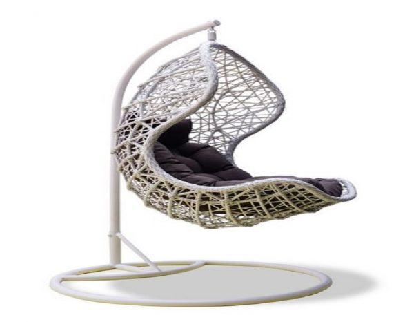 """Подвесное плетеное кресло """"Cand vanilla"""""""