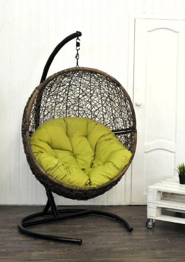 """Подвесное плетеное кресло """"Lunar Coffee"""""""