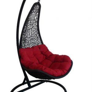 """Подвесное плетеное кресло """"Wind Black"""""""