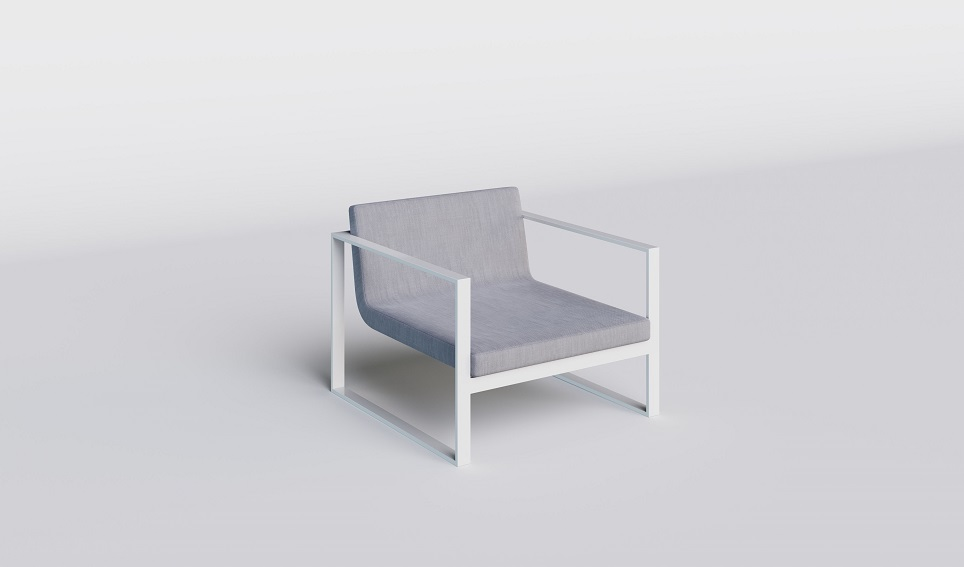 """Комплект садовой мебели из алюминия """"Delizia"""""""