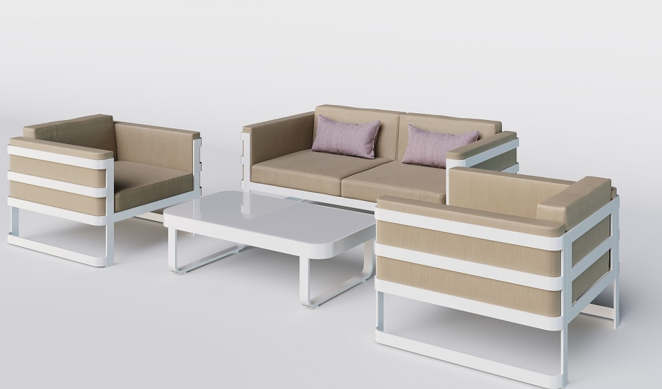 """Комплект садовой мебели из алюминия """"Hacienda"""""""