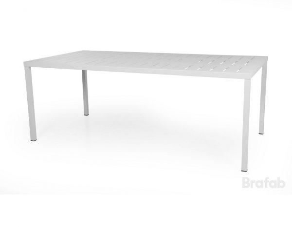 """Стол садовый алюминиевый """"Belfort"""", 200 x 100 см, цвет белый"""