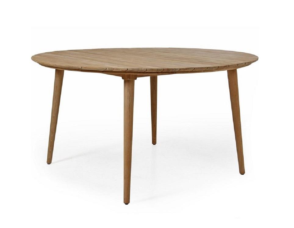 """Стол из тика """"Rodena"""" 140 см"""