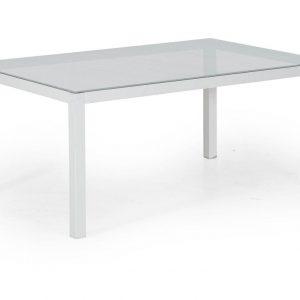 """Стол садовый алюминиевый """"Leone"""" 120 белый Brafab"""