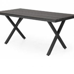 """Стол садовый алюминиевый """"Leone"""" 150 черный Brafab"""