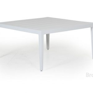 """Стол садовый """"Mackenzie"""" 77х77 см, цвет белый Brafab"""