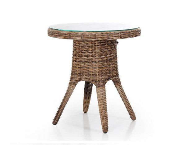 """Стол """"Sandiego"""" диаметр 70 см, цвет коричн. микс"""