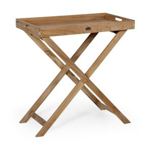 """Столик с подносом из тика """"Turin"""", высота 75 см"""