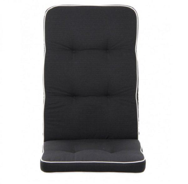 """Подушка на кресло """"Vigo"""", цвет черный 155"""