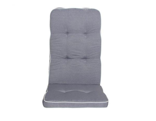"""Подушка на кресло """"Vigo"""", цвет серый"""