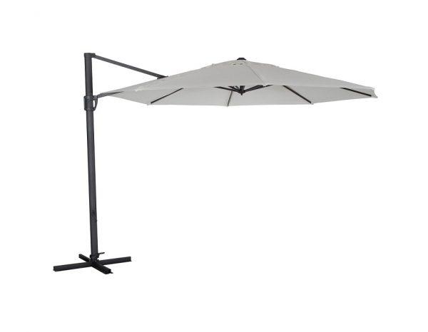 """Садовый зонт """"Fiesole"""", цвет антрацит/белый"""