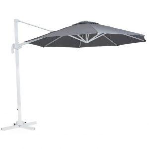"""Садовый зонт """"Linz"""", цвет белый/серый"""