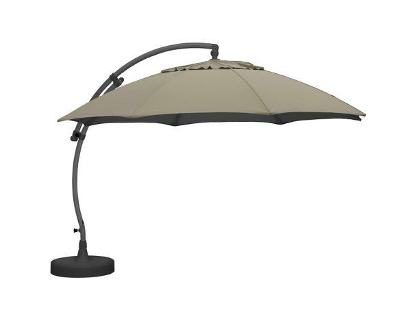 """Садовый зонт """"Easy Sun"""", цвет антрацит/песочный"""