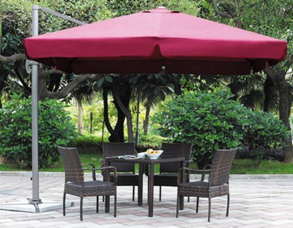 """Садовый зонт """"GardenWay А002-3030"""", цвет бордовый"""