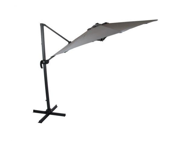 "Садовый зонт ""Linz"", цвет антрацит/серый"